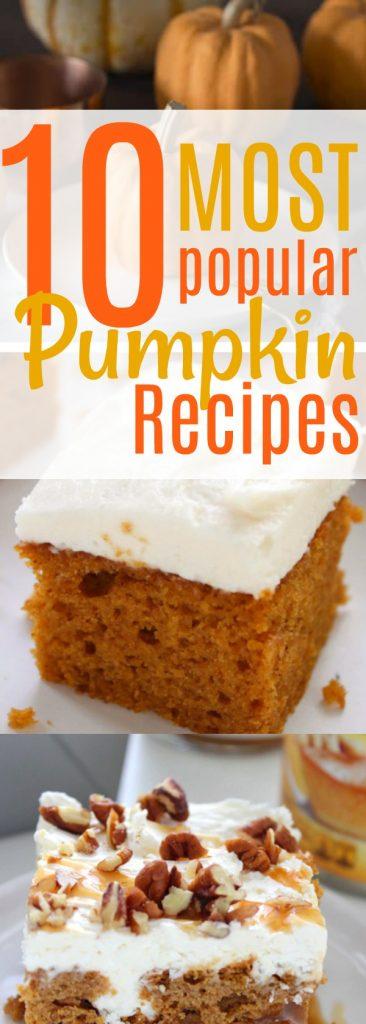 pumpkin recipes dessert easy baking
