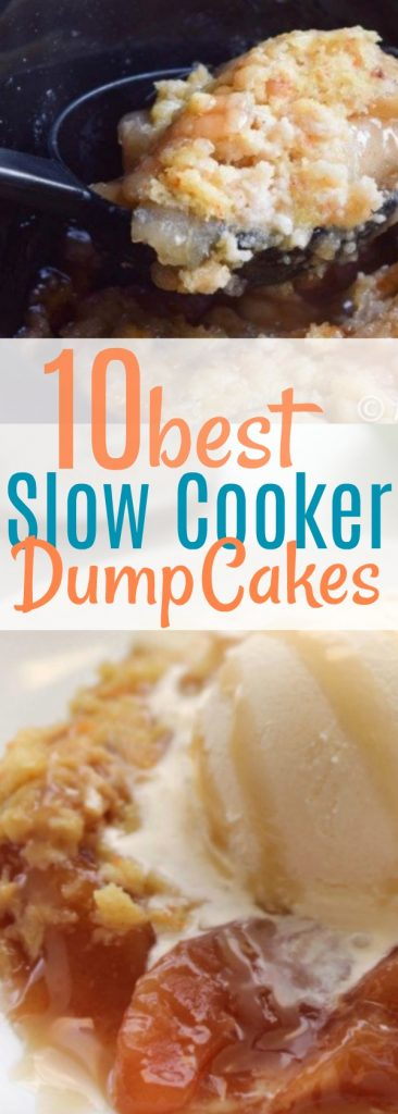 Making slow cooker cakes? Recipes, desserts ESPECIALLY in the crock pot are awesome because they make dessert easy! From crock pot apple crisp to slow cooker chocolate lava cake. You'll love all of these dessert ideas! #dessert #crockpot #slowcooker