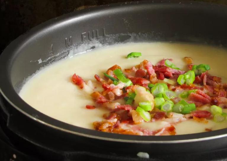 pressure cooker potato soup