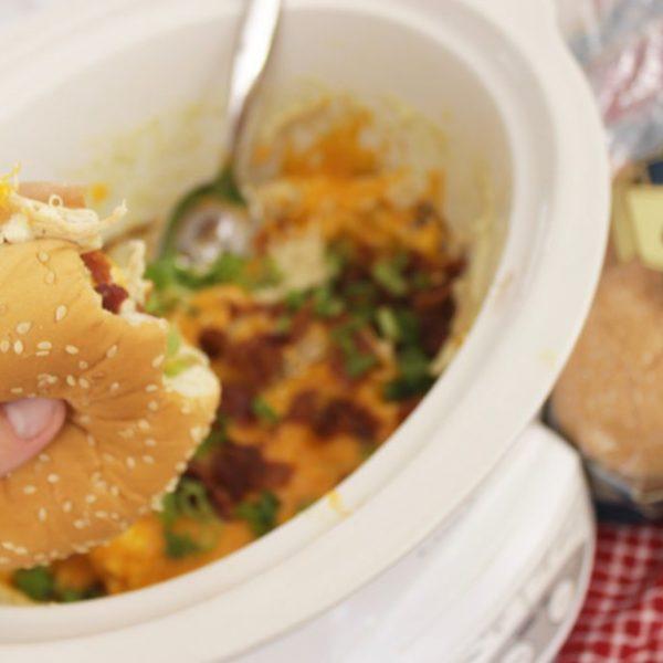 Crack Chicken Recipe Sandwiches