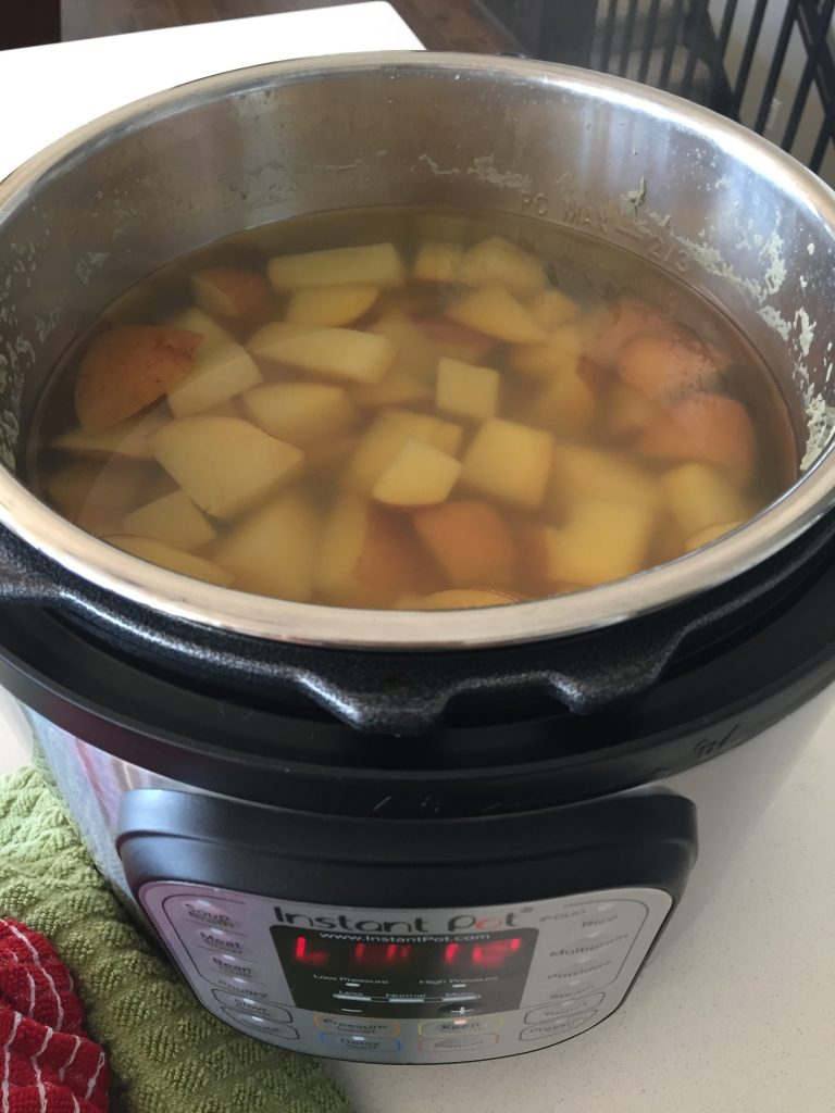 instant pot side dish with potatoes