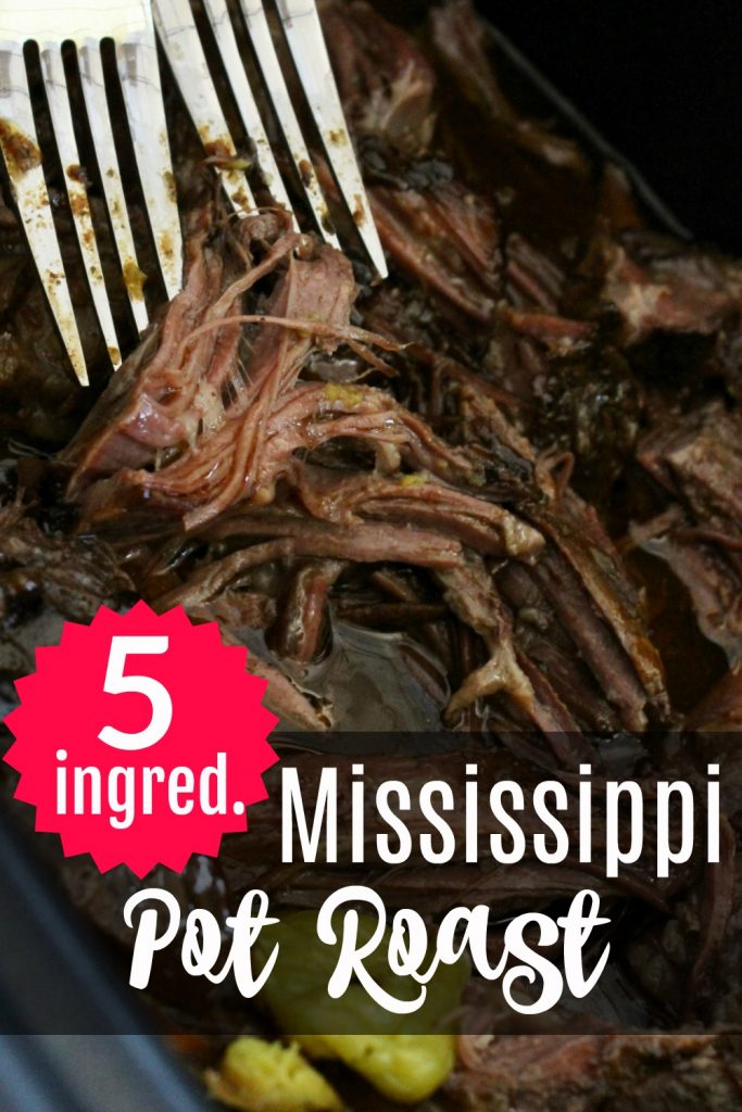 I LOVE easy crockpot meals with only 5 ingredients! In the Fall and winter especially I can't turn down all of the beef crockpot recipes, roast is our favorite! #chuckroast #beef #crockpot #slowcooker