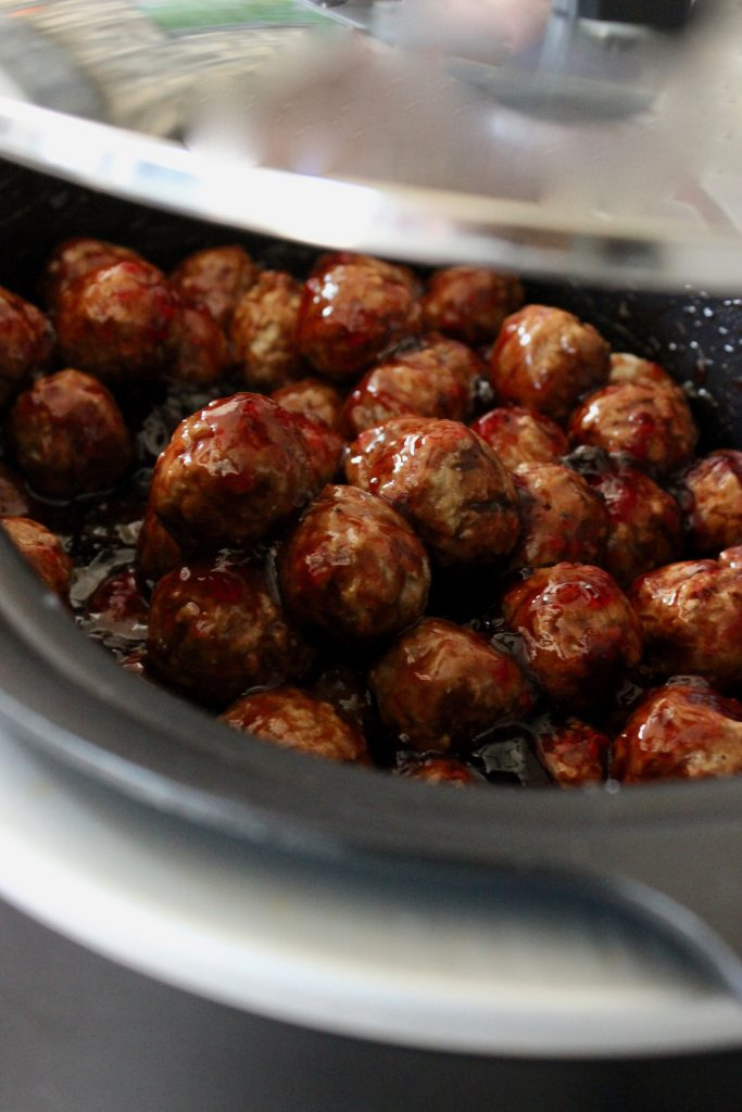 crockpot meatballs with jelly