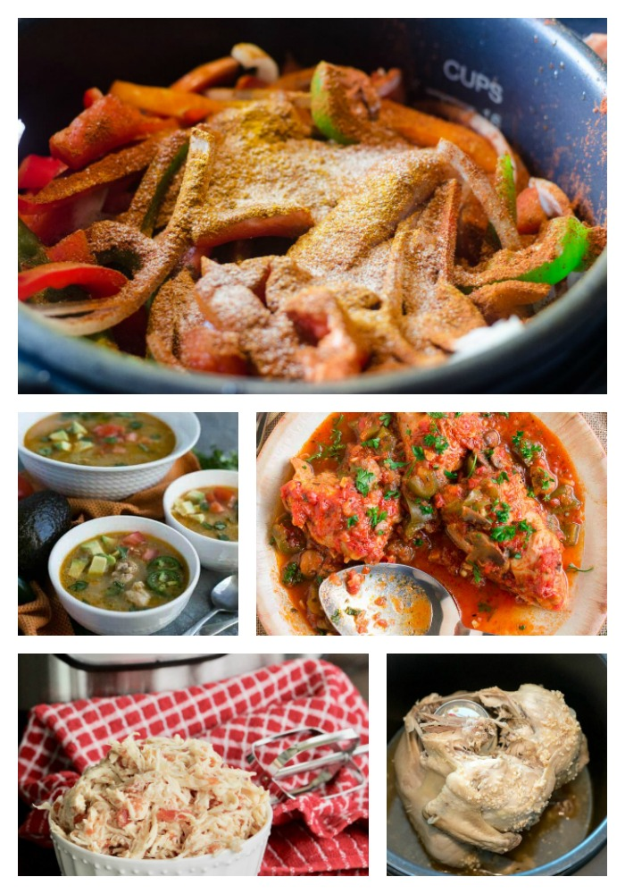 Chicken Instant Pot recipes that are all delicious!