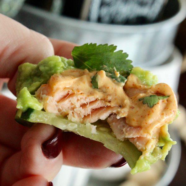 Salmon Keto Appetizer Bites