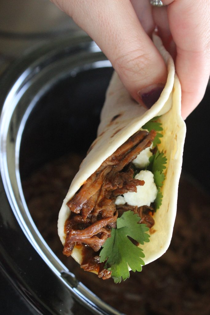 My beef street tacos crockpot recipe is the best one there is!