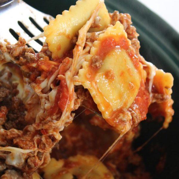 Lazy Lasagna with Ravioli Everyone Will LOVE!