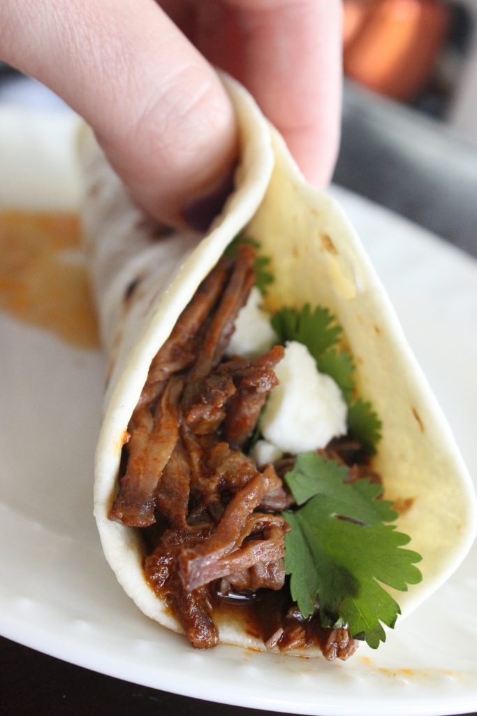 This is my Mexican shredded beef for tacos