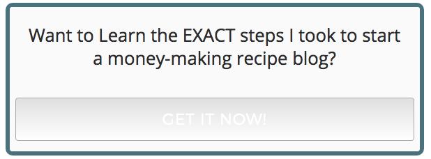 Start a Recipe Blog