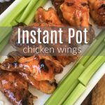 instant pot chicken wings with celery