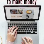 Make money online blogging from a computer like this