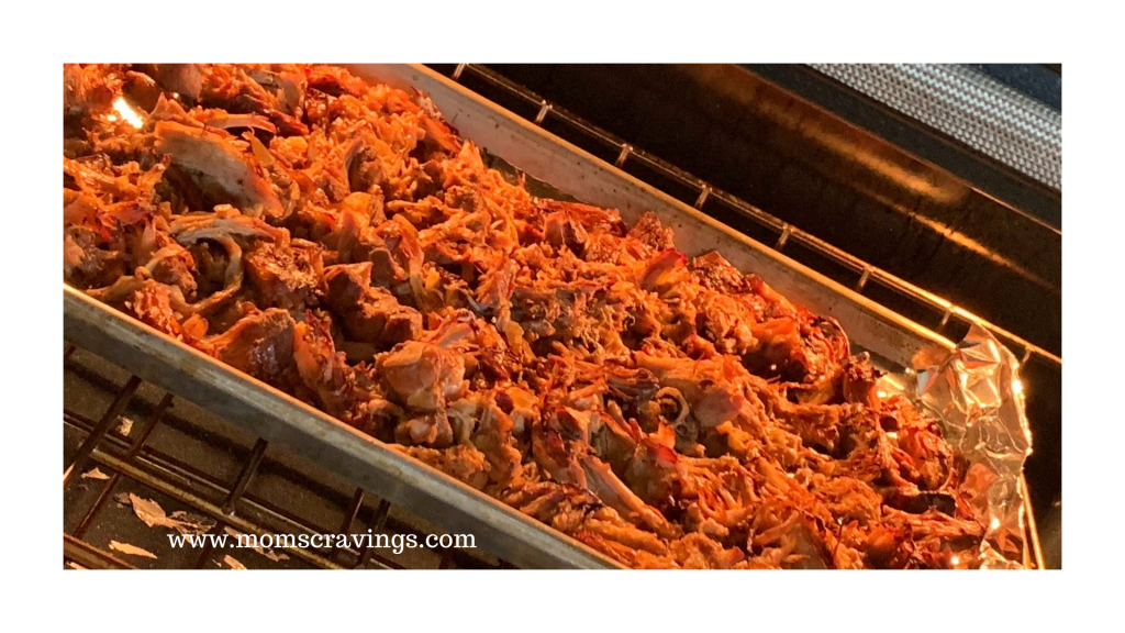 Pork Carnitas in the oven