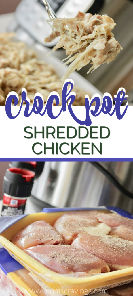shredded chicken crock pot recipe