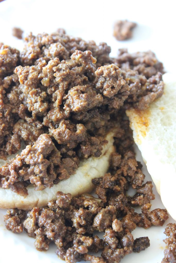 sloppy joes on a bun