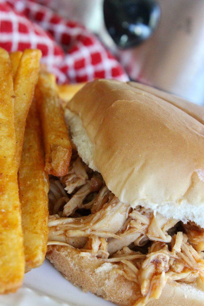 chicken on a sandwich