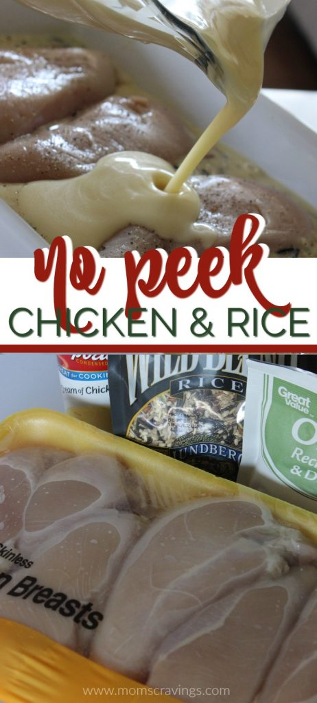 no peek chicken and wild rice