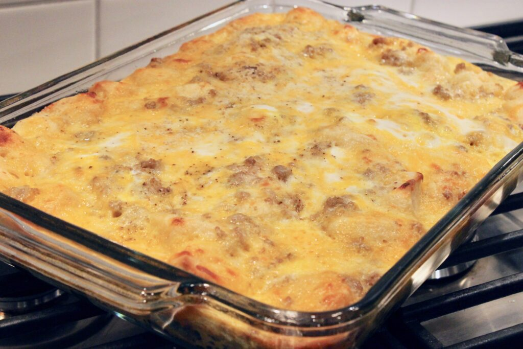 The best sausage breakfast casserole ever