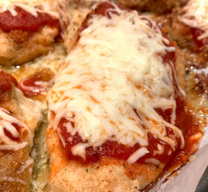 chicken parmesan baked in the oven