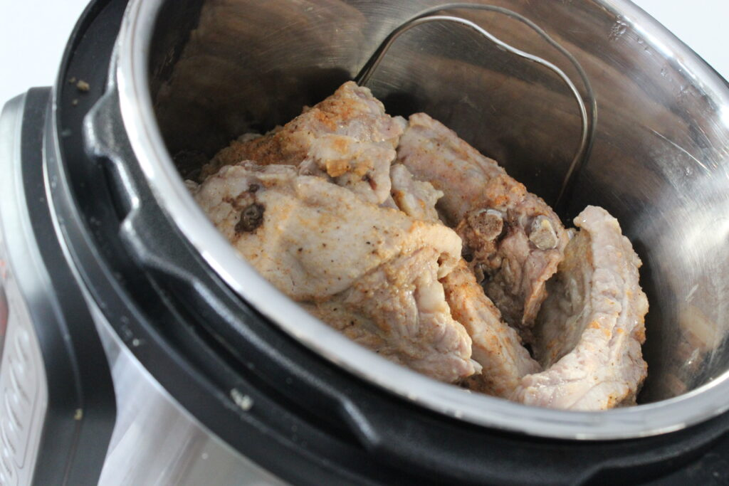 Baby back ribs in the Instant Pot