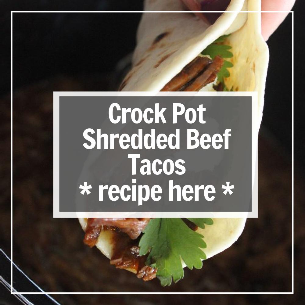 crock pot beef tacos