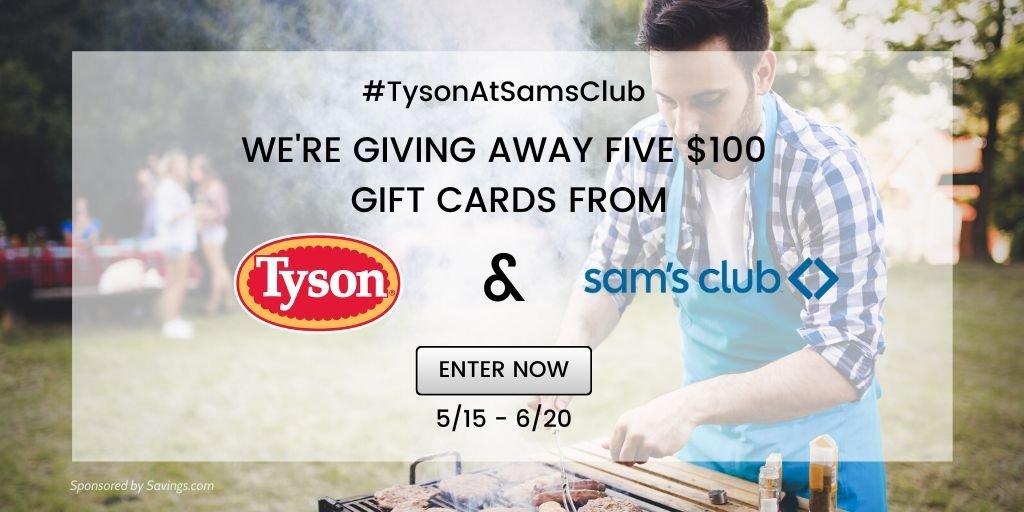 Sams club grilling giveaway