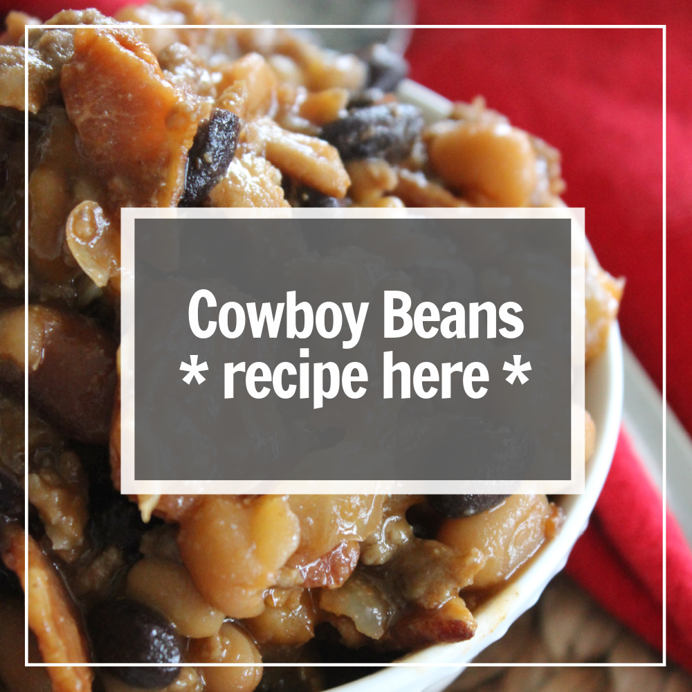 image showing how to get to the cowboy baked beans recipe