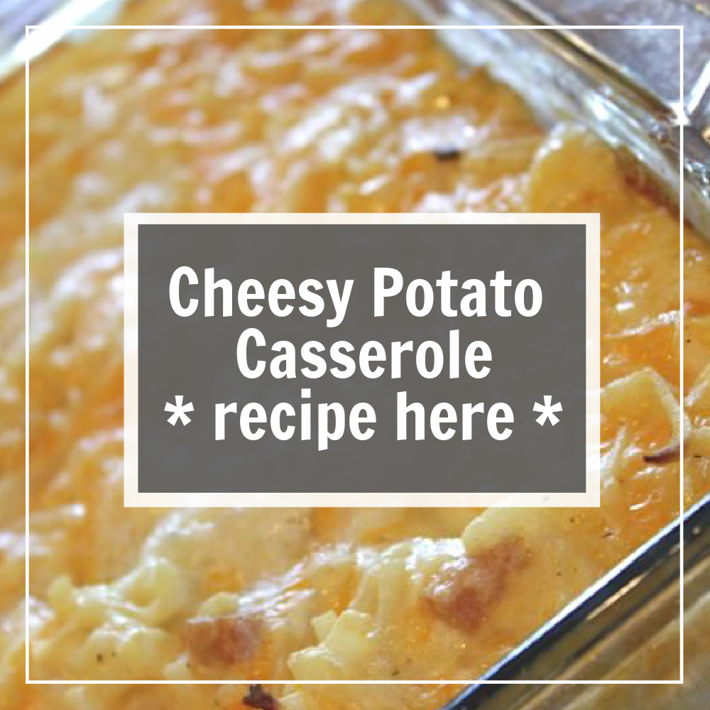cheesy potato recipe pulls up when you click on this box