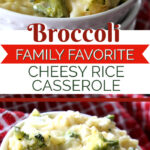 broccoli cheesy rice family favorite side dish