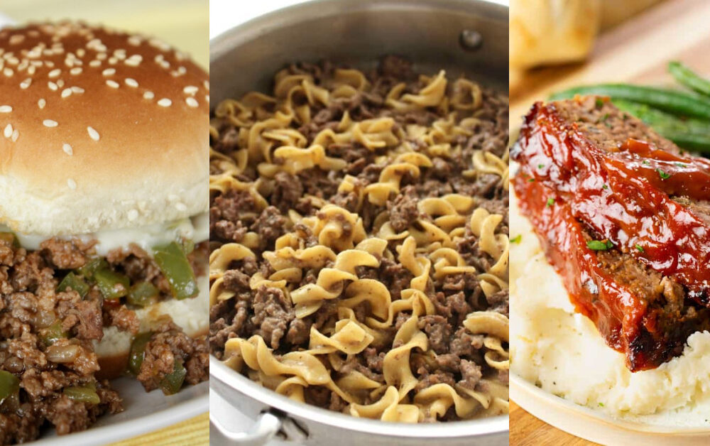 easy made meals with ground beef