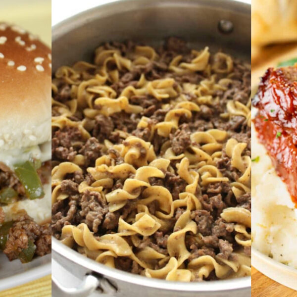 Simple Meals Made with Ground Beef